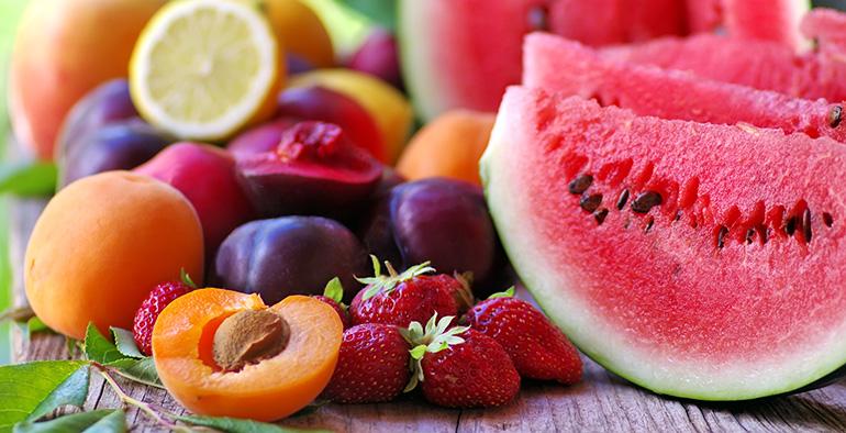 alergia, frutas