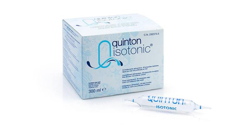 Ampollas de plasma marino de Quinton