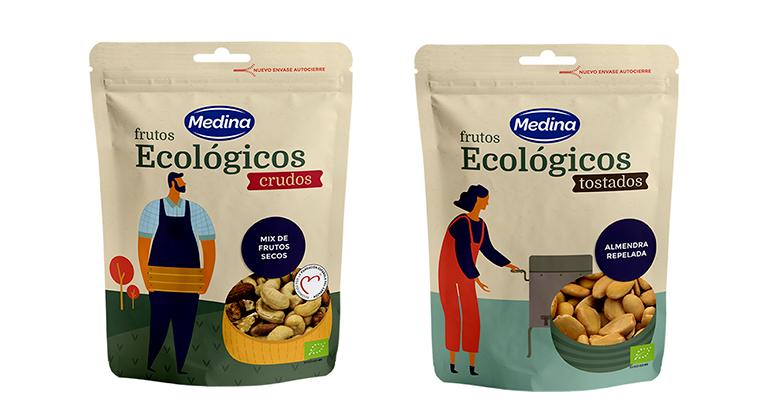 Aperitivos Medina, frutos secos, productos ecológicos