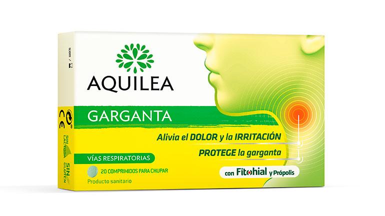Fórmula con film protector mucoadherente para aliviar el dolor de garganta