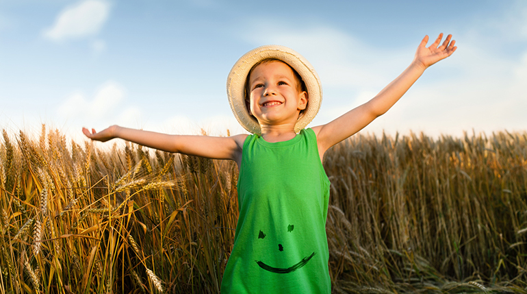 Fibra de raíz de achicoria para mantener el equilibrio de la microbiota en niños