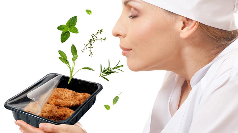 Solución para el envasado en atmósfera protectora que refuerza los aromas de los alimentos