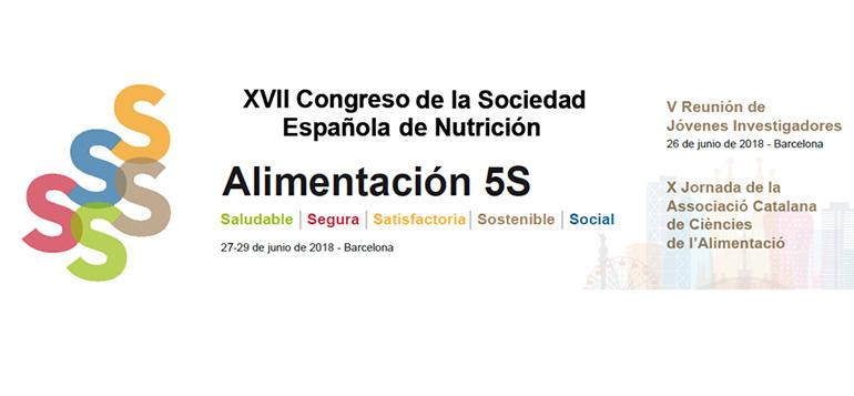 Nueva edición del congreso de la Sociedad Española de Nutrición