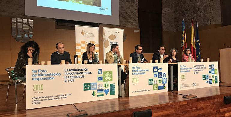 Valencia acogió el 1er Foro Nacional de Alimentación Responsable para conmemorar, el 24 de noviembre, el Día Mundial del Dietista-Nutricionista