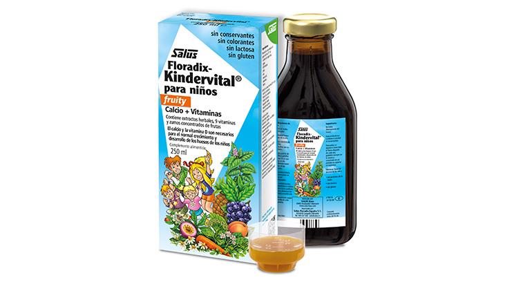 Multivitamínico para niños con calcio y vitamina D