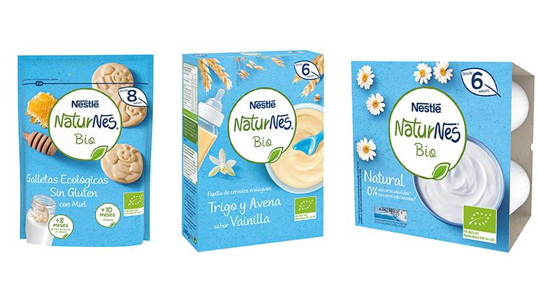 Gama infantil Naturnes Bio, completa y sin gluten