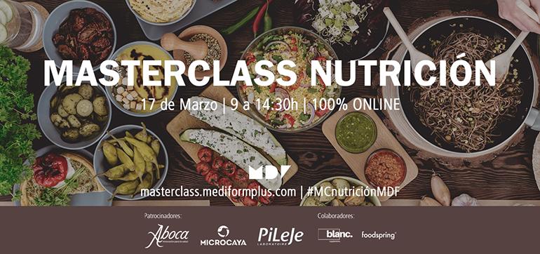 Mediformplus celebrará un masterclass sobre nutrición el 17 de marzo