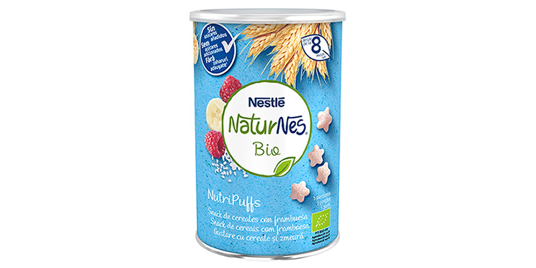 """NutriPuffs, los """"snacks"""" saludables y ecológicos para bebés"""
