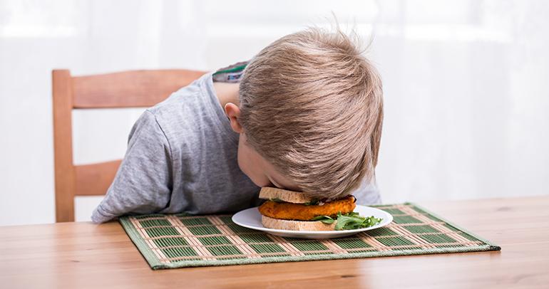 Obesidad infantil, nutrición