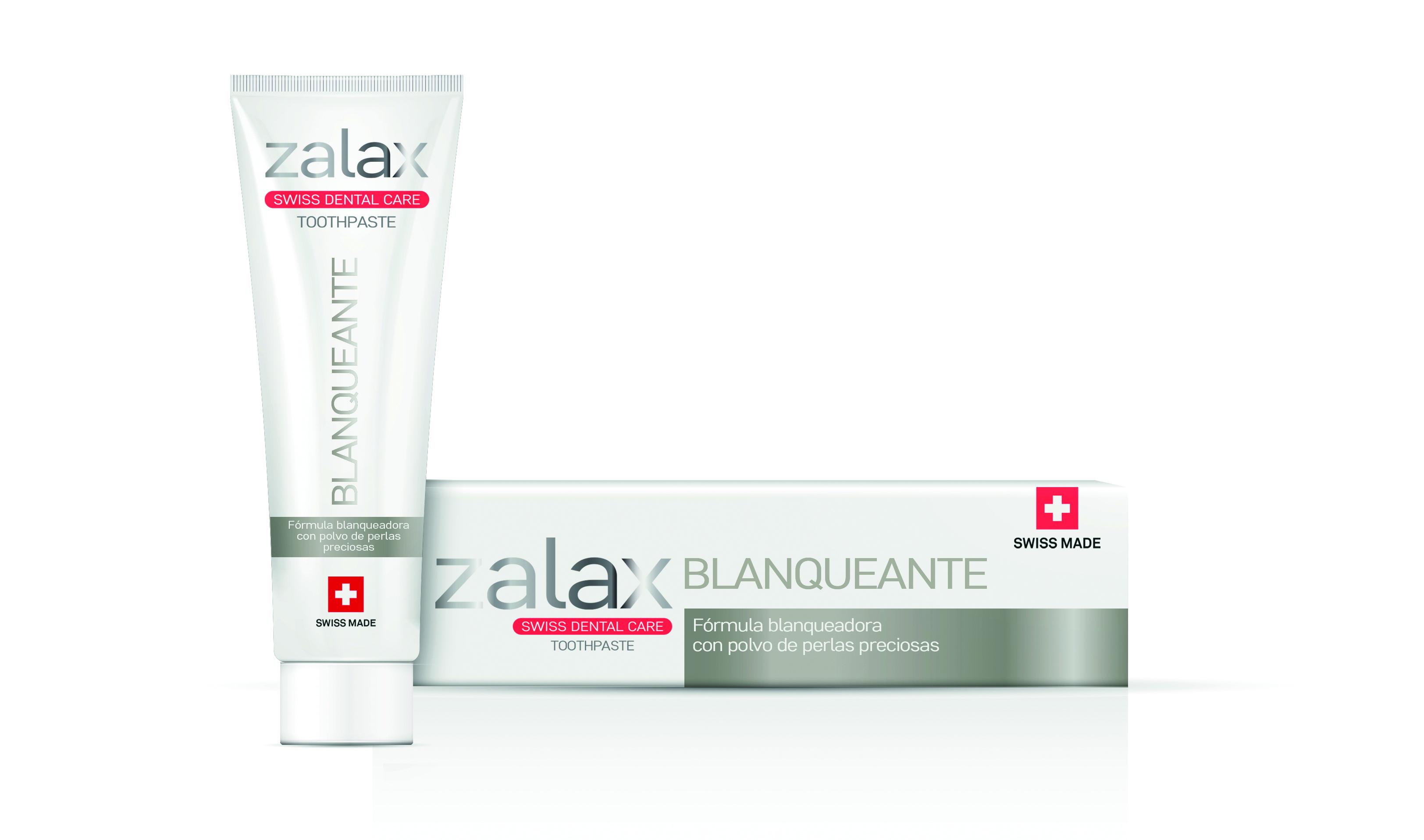 Gama premium de pasta de dientes con origen y calidad suiza
