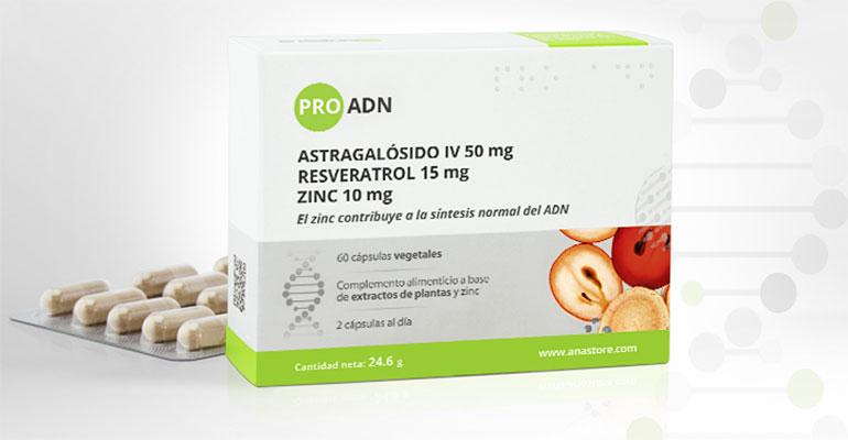 Extractos estandarizados de plantas antioxidantes y zinc