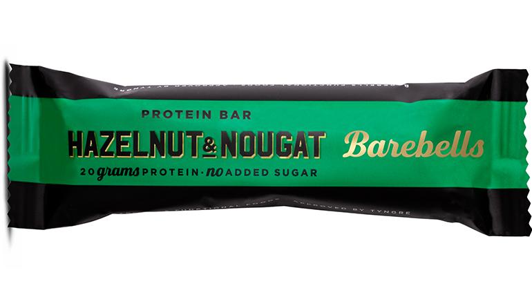 Barrita de proteínas: Hazelnut & nougat