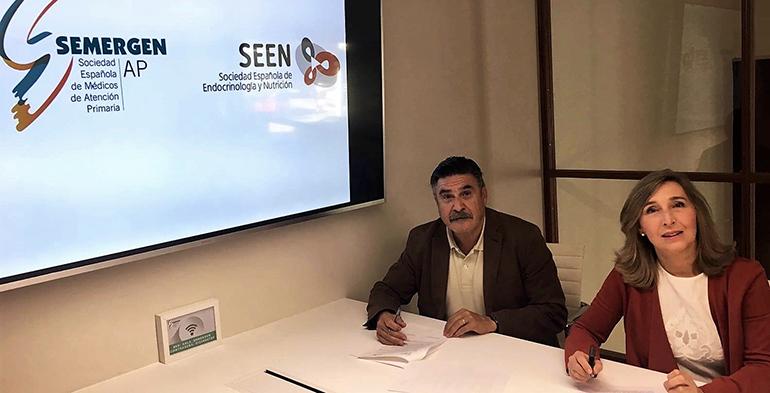Seen y Semergen firman un convenio marco de colaboración para impulsar la formación y la investigación