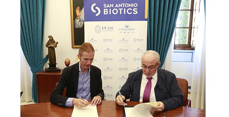 Capsa Food y la UCAM de Murcia crean la empresa San Antonio Biotics para investigar nuevas cepas probióticas