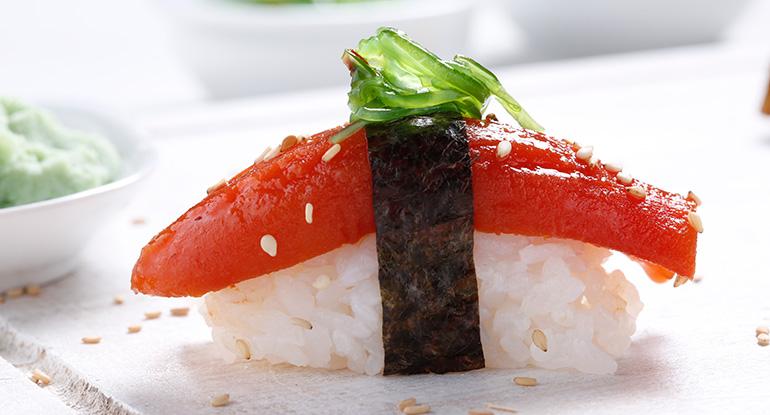 Alternativa vegetal al atún