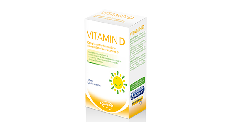 Vitamin-D. Laboratorios Ordesa, vitamina D