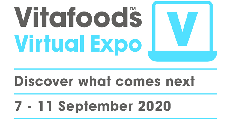 Vitafoods Vitual Expo, en septiembre llega la gran plataforma online e interactiva de la cadena de suministro nutracéutica