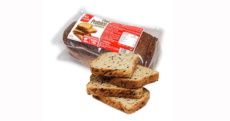 Pan proteico, con menos carbohidratos y más proteínas de alto valor nutricional