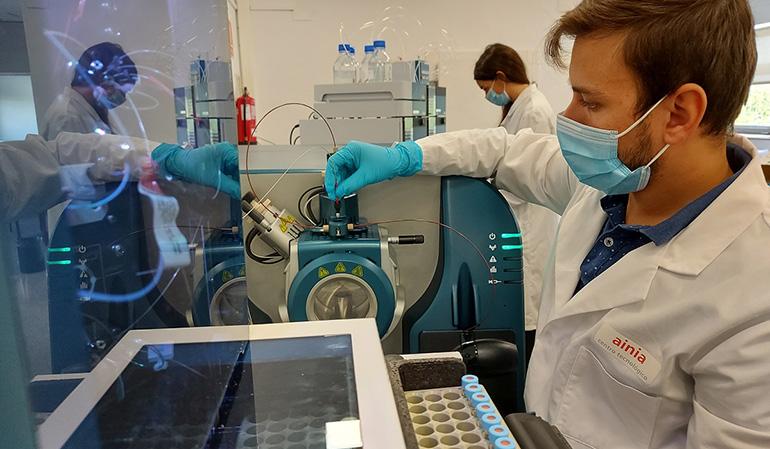 ainia investiga nuevas proteínas para productos farmacéuticos