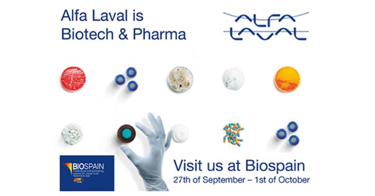 Alfa Laval estará presente en BioSpain