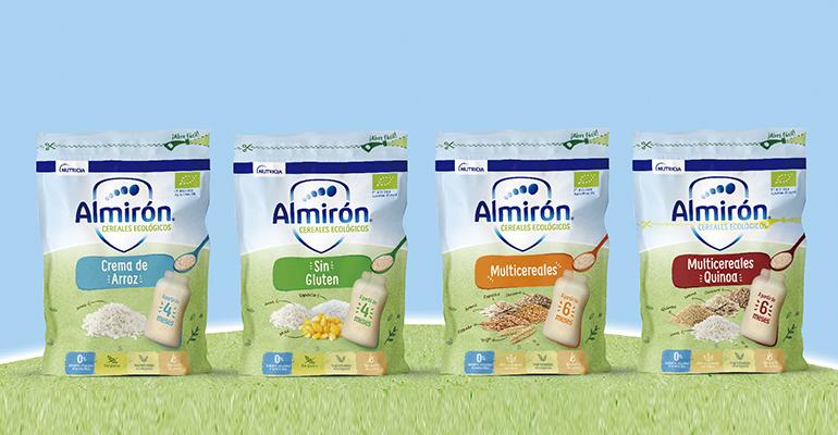 Nueva gama de cereales con ingredientes ecológicos