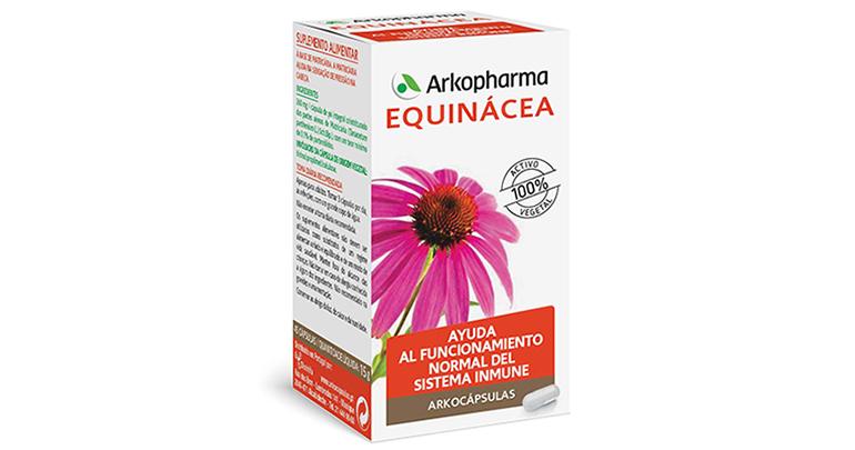 Equinácea como remedio natural para combatir los resfriados
