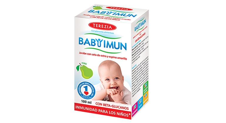 Jarabe natural para niños a partir de 1 año