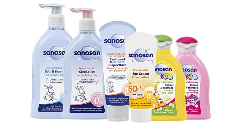Bebe Innova trae a España la cosmética infantil de sanosan