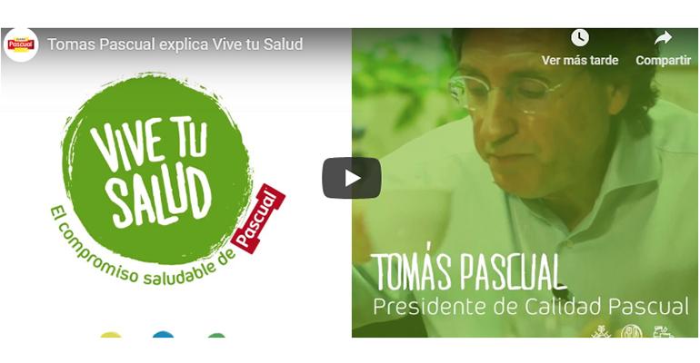 Pascual se propone mejorar los hábitos alimenticios de los españoles