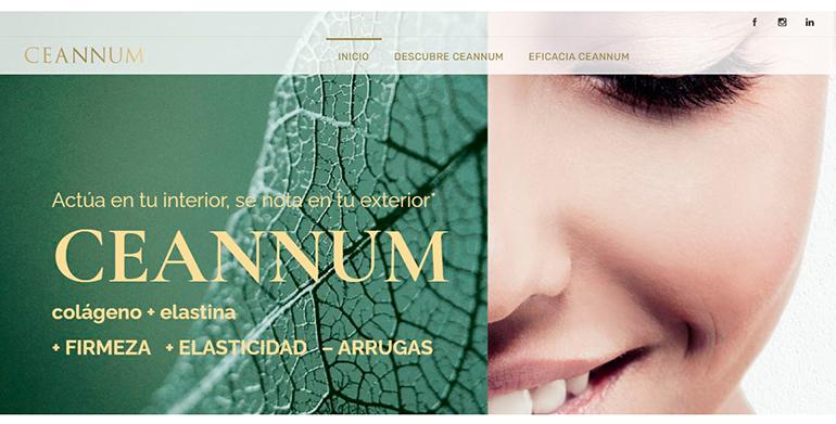 El nutricosmético antiedad Ceannum estrena web