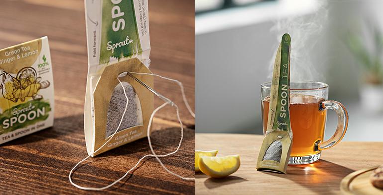 Sprout Spoon, la cuchara de té que puede salvar al planeta de toneladas de plástico