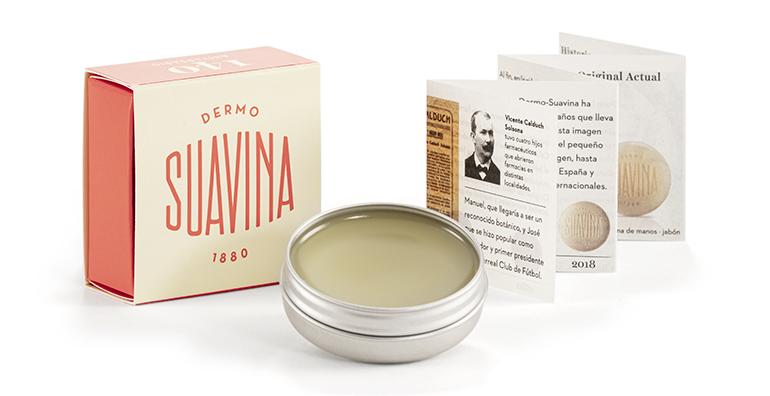 Bálsamo labial Dermo Suavina Original, edición 140º Aniversario
