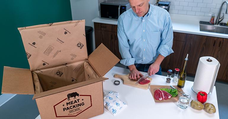 DS Smith lanza una nueva solución de embalaje sostenible para entregas sensibles a las temperaturas
