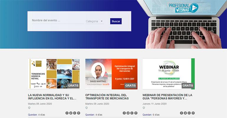 webinar, formación, nutrición y salud