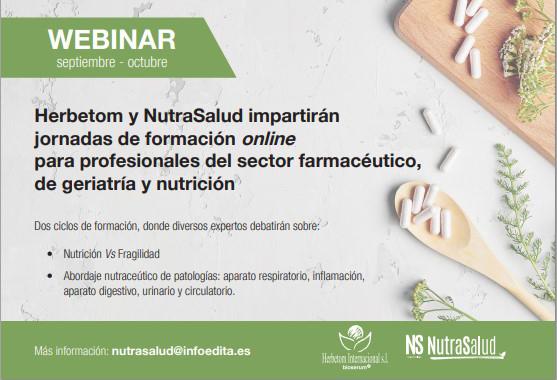 Herbetom y NutraSalud organizan un ciclo de mesas redondas a partir de septiembre