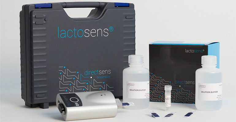 Kit para detectar la lactosa en formulaciones