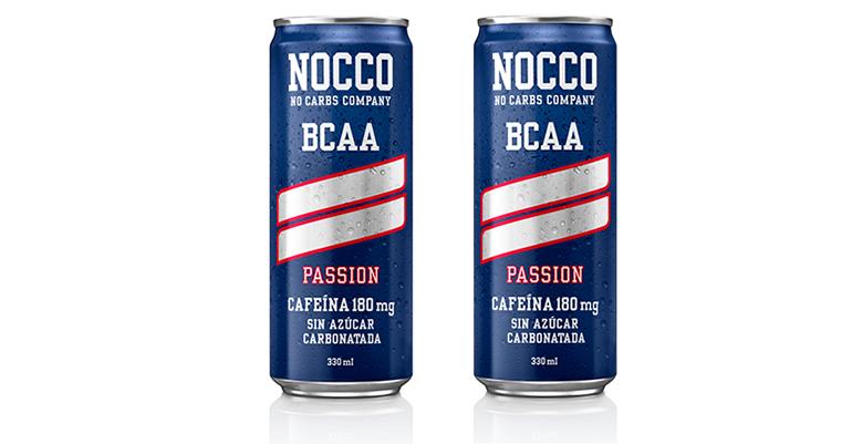 Bebida funcional con BCAA, extracto de té verde, cafeína y vitaminas