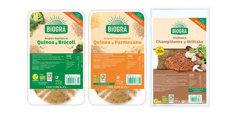 Nuevas hamburguesas de quinoa y Vistteca de champiñones con shiitake