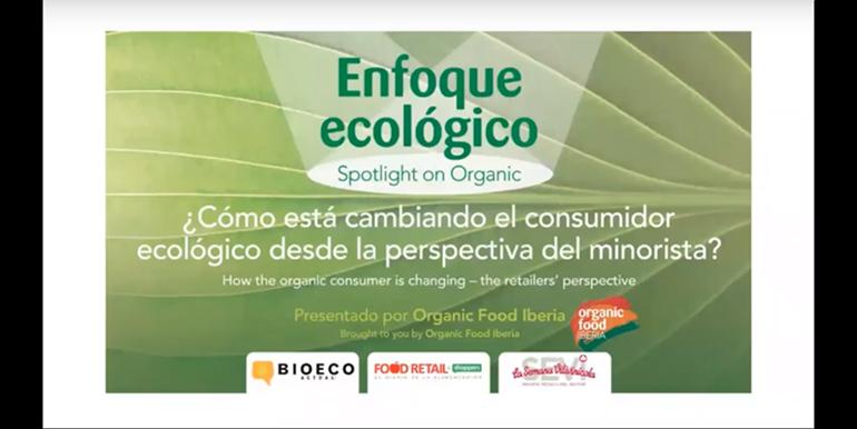Organic Food Iberia presentó su webinar