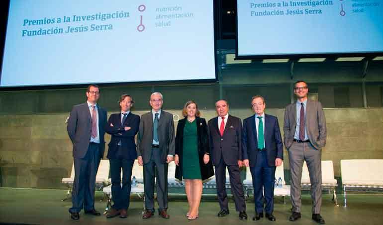 Abierta la convocatoria de los Premios Fundación Jesús Serra a la Investigación en nutrición y alimentación