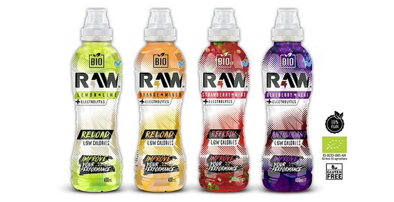 Bebida isotónica BIO con frutas seleccionadas  e ingredientes 100% naturales