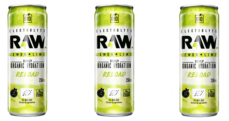 Refresco 100% BIO de lima y limón, sin ingredientes artificiales