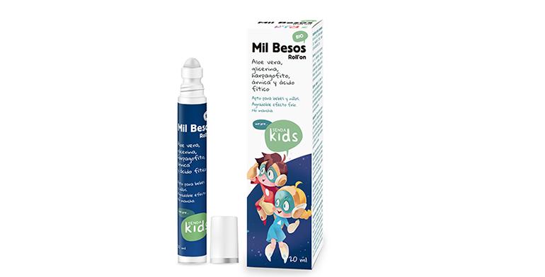 Roll´on BIO para golpes y piel dañada en la infancia