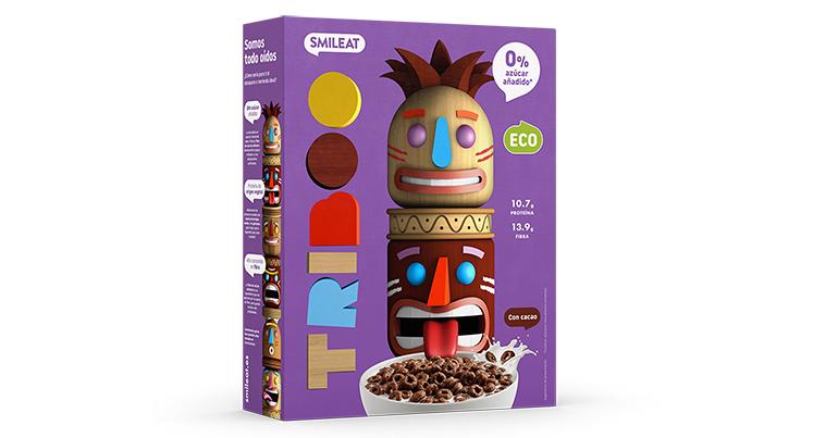 Cereales y snacks infantiles ecológicos sin azúcar ni edulcorantes añadidos