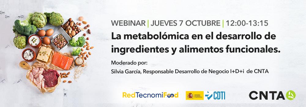 CNTA explicará cómo funcionará la metabolómica en el desarrollo de alimentos funcionales a través de un webinar